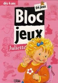 Bloc jeux Juliette : 64 Jeux