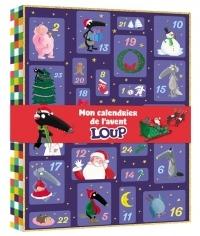 Mon calendrier de l'avant Loup : Avec 10 figurines