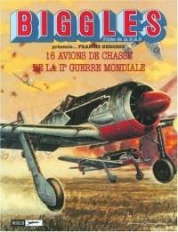 Biggles : Mes avions de papier - Porte-folio : Avions de chasse de la 2e guerre