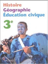 Histoire, géographie, éducation civique, 3ème