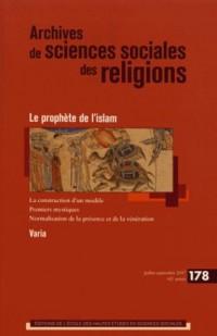 Archives de Sciences Sociales des Religions 178