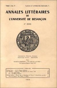 Annales littéraires : 1835, Pensées littéraires de Georges Sand