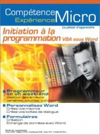 Initiation à la programmation VBA sous Word
