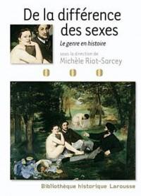 De la différence des sexes - Le genre en histoire
