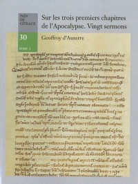 Sur les trois premiers chapitres de l'apocalypse. Vingt sermons