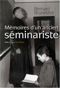 Mémoires d'un ancien séminariste