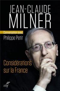 Considerations Sur la France