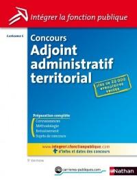 Concours adjoint administratif territorial - Catégorie C