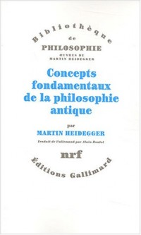 Concepts fondamenteaux de la philosophie antique
