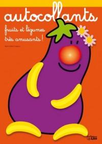 Fruits et Légumes très amusants : Monsieur Aubergine - Dès 3 ans