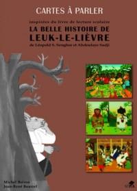 La belle histoire de Leuk le lièvre, cartes à parler