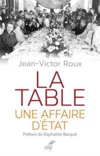 La table, une affaire d'Etat