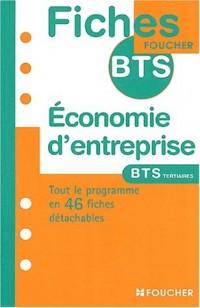 Fiches BTS Foucher : Économie d'entreprise, BTS