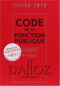 Code fonction publique commenté