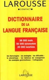 Larousse Compact Dictionnaire De LA Langue