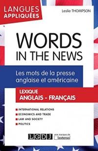 Les mots de la presse anglaise et américaine