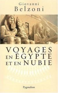 Voyages en Egypte et en Nubie