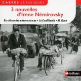 3 nouvelles d'Irène Némirovsky
