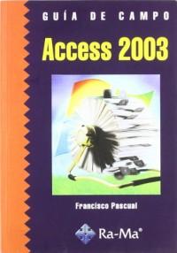 Guía de campo de Access 2003