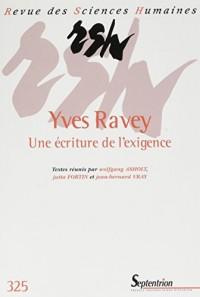 Yves Ravey: Une écriture de l'exigence - N° 325 1/2017