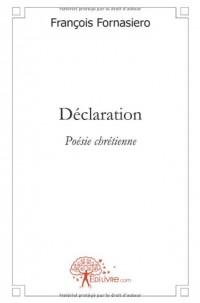 Déclaration