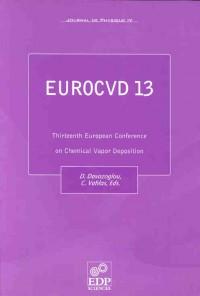 Eurocvd 13 Chemical Vapour Deposition