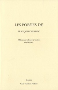 Les poésies de François Caradec