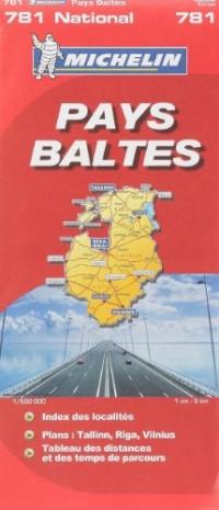 Pays Baltes : 1/500 000