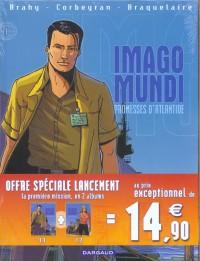 Imago Mundi : Pack en 2 volumes : Tome 1, Promesses d'Atlantide ; Tome 2, Le trésor des Abysses