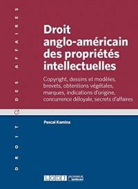 Droit anglo-americain des propriétés intellectuelles