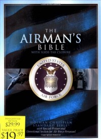 The Airman's Bible : United States Air Force: Holman Christian Standard Bible, Airman's Bible, Blue, Bonded Leather, Slide-Tab Closure, Special Prayer and Devotional Section for Air Force Personne
