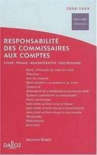 Responsabilité des commissaires aux comptes