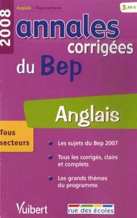 Anglais : Annales corrigées du BEP