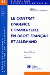 Le contrat d'agence commerciale en droit Français et Allemand