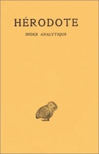 Histoires : Index analytique des 9 livres