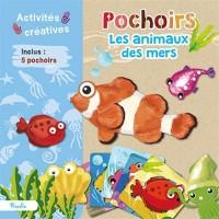 Pochoirs : Les animaux des mers