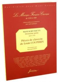 Manuscrit Bauyn - Deuxième partie : pièces de Louis Couperin