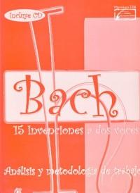 ENCLAVE - Bach: 15 Invenciones a 2 Voces (Estudio Original, Analisis y Metodologia) para Piano(Inc.CD)