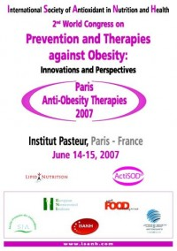 Prevention and therapies against obesity : Innovation and perspectives - Paris 2007