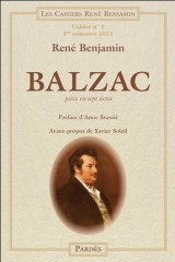 Balzac (Cahiers René Benjamin n°1)