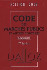 Code des Marchés publics et autres contrats