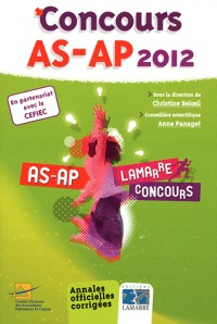 Pack Concours 2012 + Oral Concours As Ap 5e ed