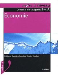 Economie. Catégories B et A, 2ème édition