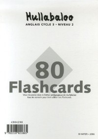 Hullabaloo Cycle 3 niveau 2 80 flashcards