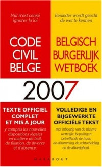 Code Civil Belge 2007
