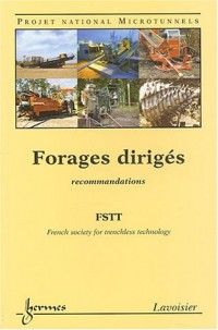 Forages dirigés : Projet national Microtunnels, Recommandations
