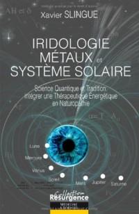 Iridologie - metaux et systeme solaire