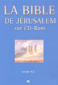 La Bible de Jérusalem sur CD-Rom