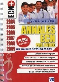 Annales ECN par année : Les annales de tous les ECN