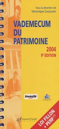 Vademecum du patrimoine 2004